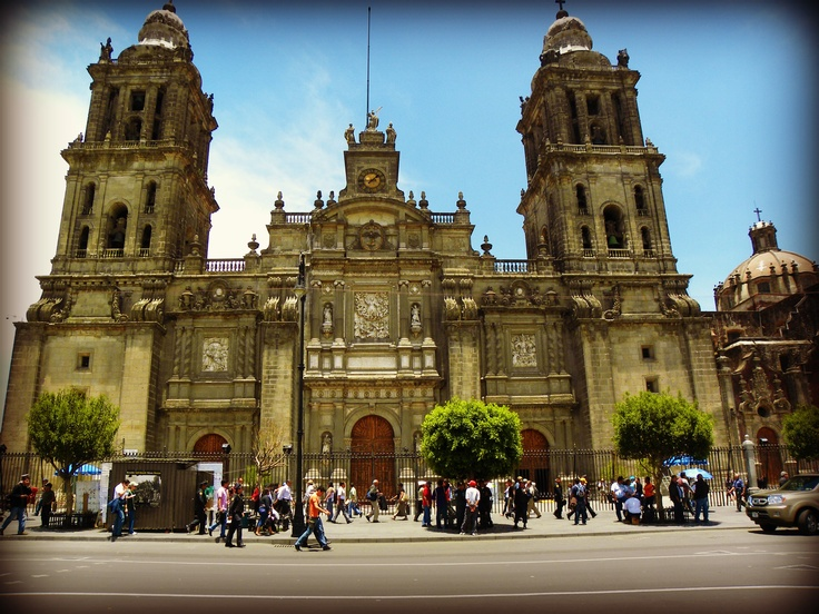 Catedral Nacional ~ Mexico City  by Krystal Williams~Landeros