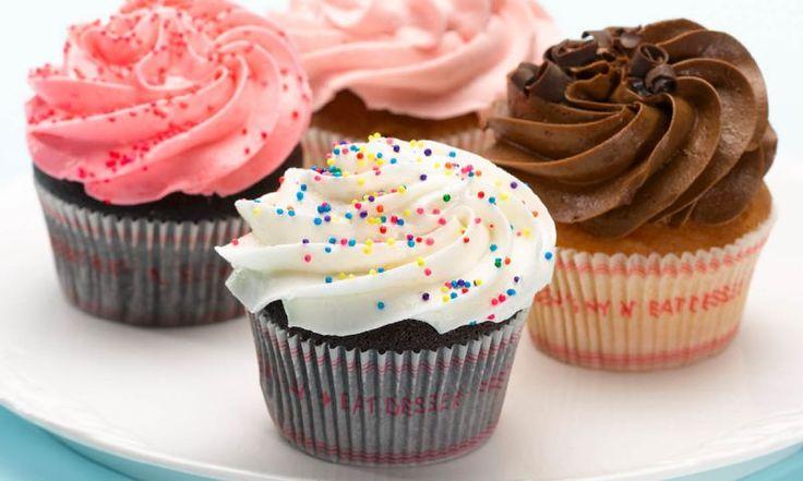 Cupcakes mit leckerem Frosting Mehr