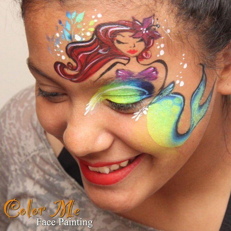 Disney Paint Colors And Ideas: Best 25+ Mermaid Face Paint Ideas On Pinterest