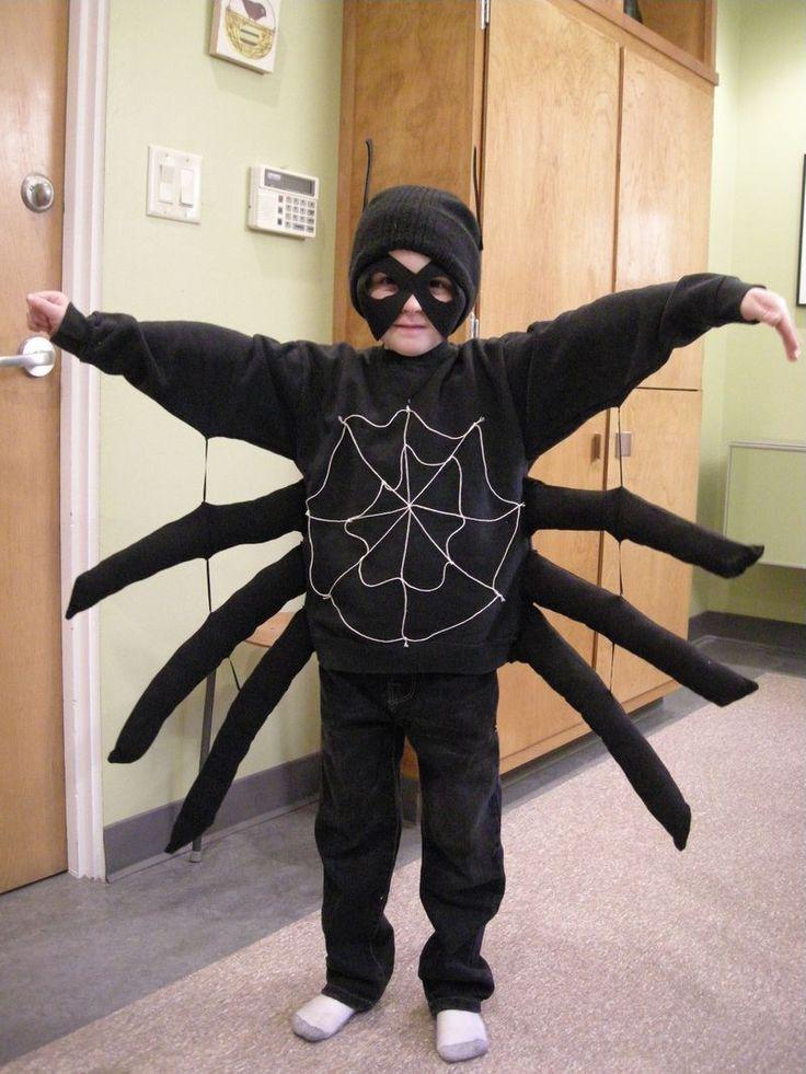 Spider costume - very easy!