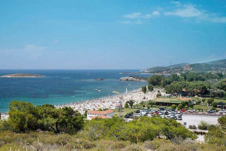 Mavi Bayraklı Plajlar  Hanedan, Foça, İzmir