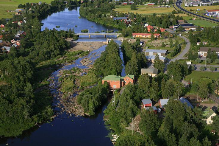 Hiirikoski, Vähäkyrö. Ostrobothnia province of Western Finland.- Pohjanmaa - Österbotten