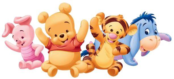 Imagenes de pooh bebé - Pooh y amigos baby