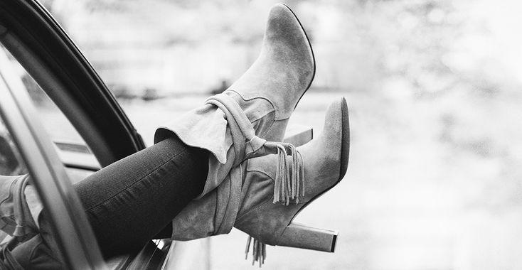5 rzeczy, które powinnaś zrobić dla siebie   Szare botki Nessi