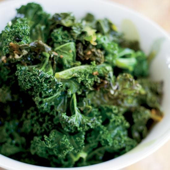 ... kale recipe is a simple braise of olive oil, garlic and chicken stock