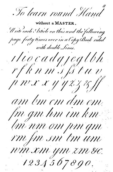 Practicing Penmanship: Learning Lower Case Letters