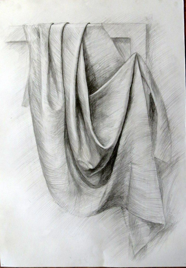рисунки карандашом на ткани фото желании можете