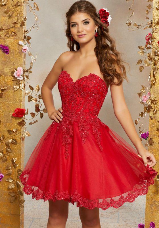 2de3b4a659 Tulle Ball Gown Quinceanera Dress