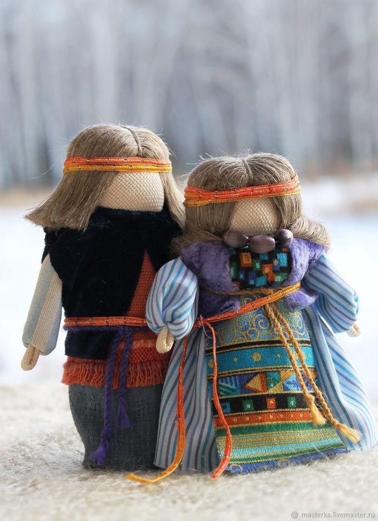 Traditional Wedding Dolls |  Народная кукла - оберег Мурашкинская парочка – купить в интернет-магазине на Ярмарке Мастеров с доставкой
