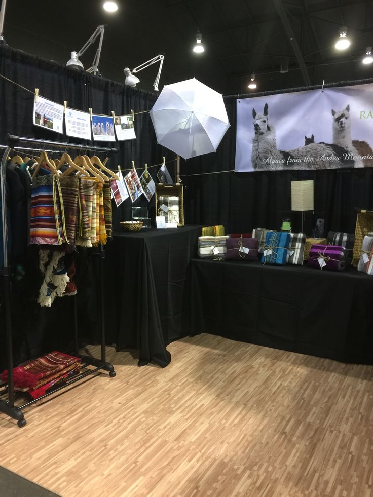 Our trade show Booth at the Vancouver gift expo.