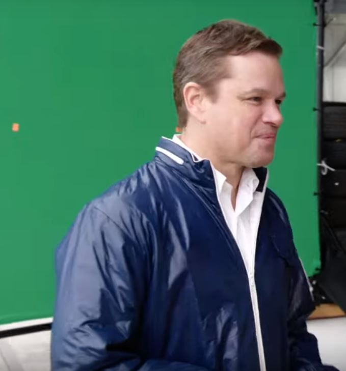 Matt Damon Carroll Shelby Ford Vs Ferrari Movie Jacket At Discounted Price Carroll Shelby Ford Ferrari