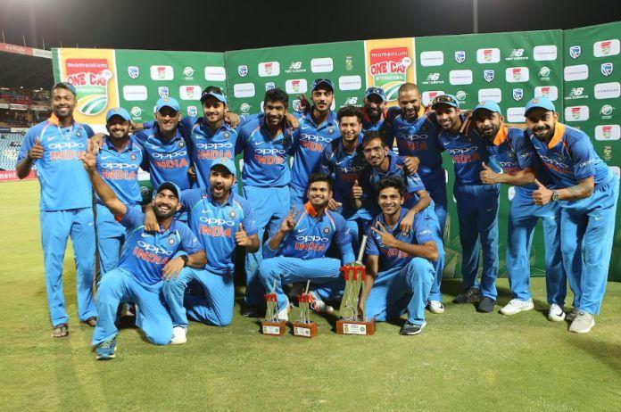 Shikhar Dhawan Expresses Joy after winning the ODI series