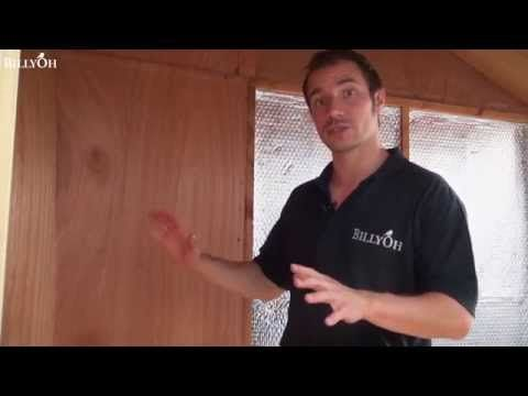 How to Insulate a Shed | Shed Blog | Garden Buildings Direct