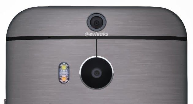 New HTC camera twofold highlighted in the detailed flight