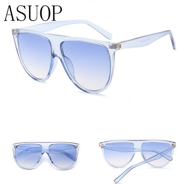 #FASHION #NEW ASUOP2017 new high-end eyewear brand ladies men's classic sunglasses square big box popular color sunglasses UV400 sunglasses