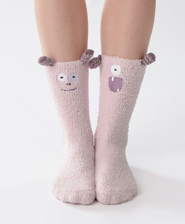 Oysho - Smiley monster socks