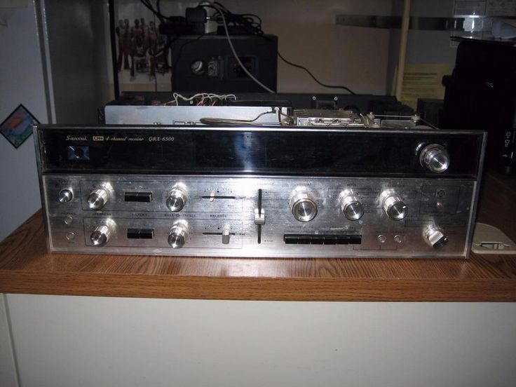 VINTAGE SANSUI QRX-6500 STEREO RECEIVER - PARTS / REPAIR #Sansui Priced as Buy it Now: US $89.99  Approximately NOK 759.06