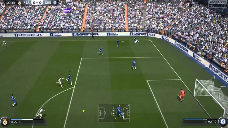 FIFA 15 Kick Off (In Menus)