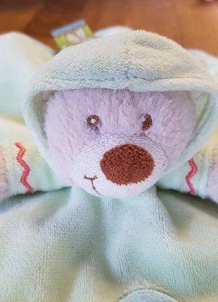 Kaufe meinen Artikel bei #Mamikreisel http://www.mamikreisel.de/spielzeug/schmusetuch/41487715-susses-barchen-schnuffeltuch-mit-kapuze-von-nicotoy-simba-dickie