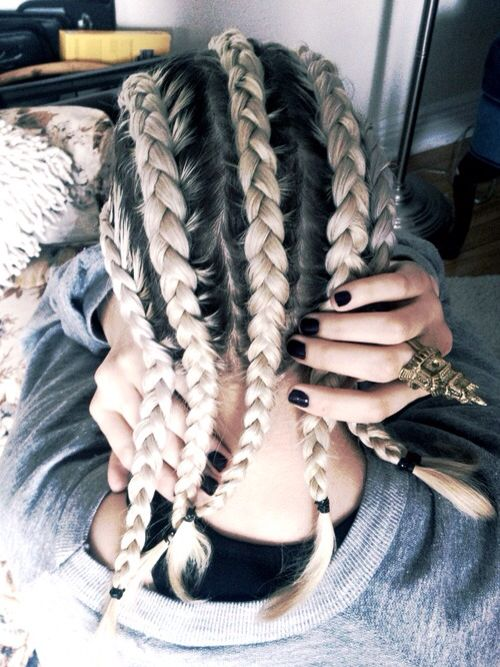 Those braids