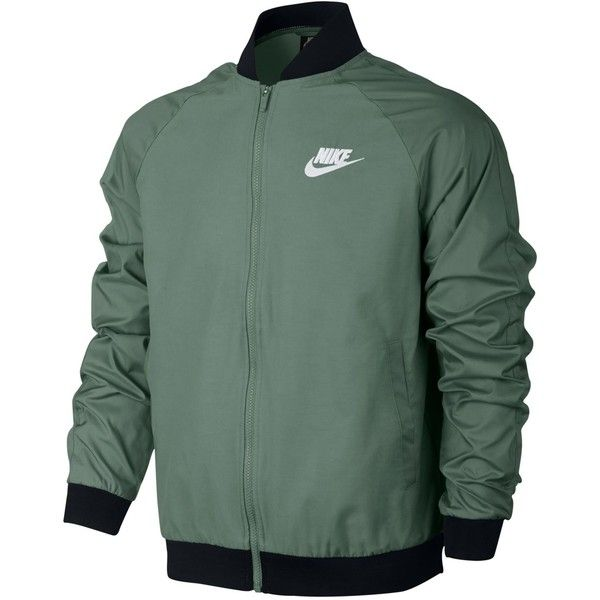 Nike Men's Woven Players Bomber Jacket (110 BAM) ❤ liked on ...
