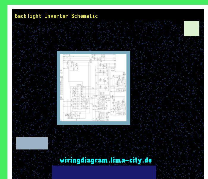Backlight inverter schematic. Wiring Diagram 175727 ...