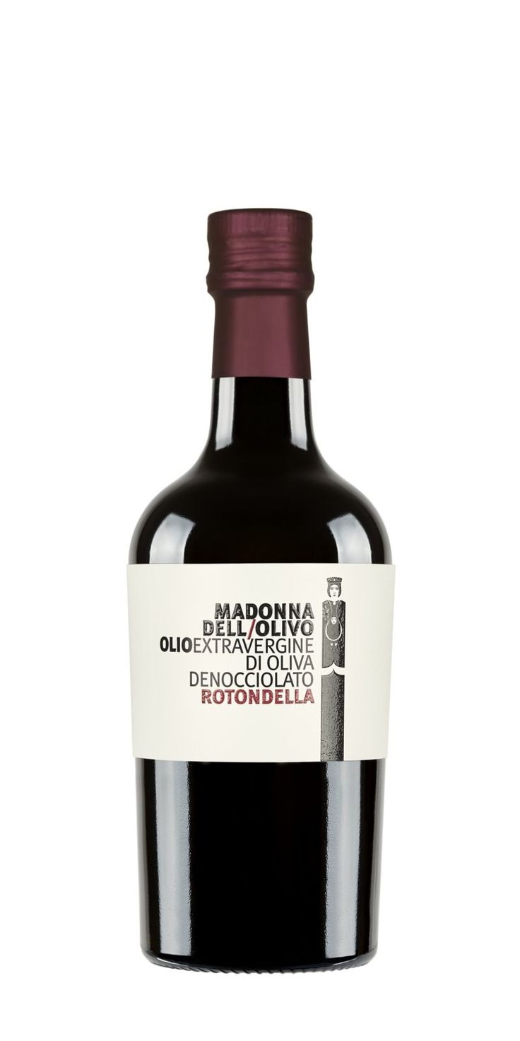 """Madonna dell'Olivo """"Rotondella"""" Olio Extravergine di Oliva denocciolato"""