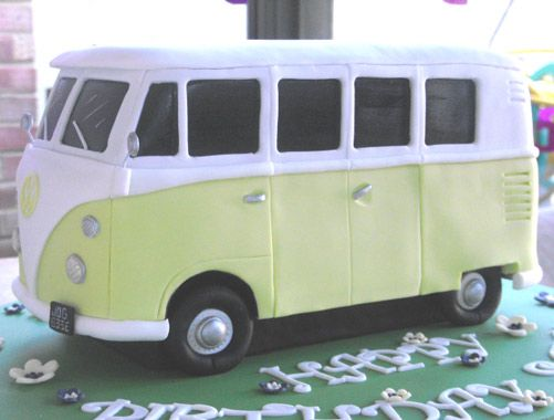 VW Camper Cake Art | VW Camper Blog