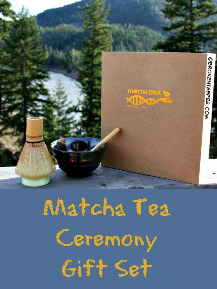 Matcha Tea Ceremony Gift Set #matchagiftset #greentea #matchatea #sponsored