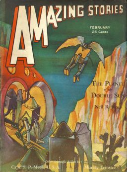 Amazing Stories April 1932