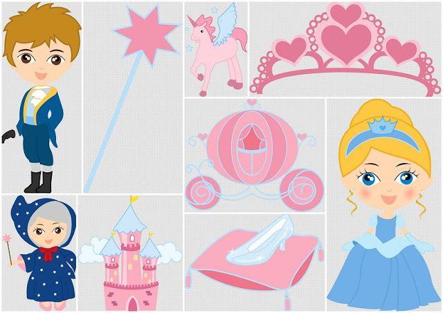 Magic Cinderella Babies Clip Art.