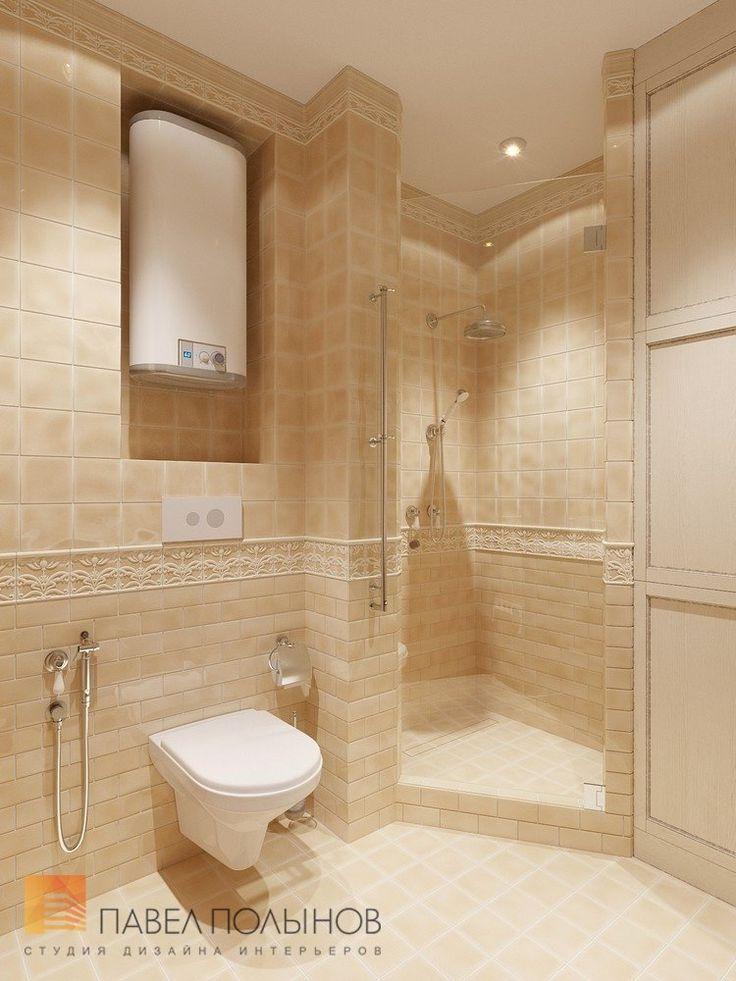 Фото ванная комната из проекта «Дизайн трехкомнатной квартиры в ЖК «Академ-Парк», 83 кв.м.»
