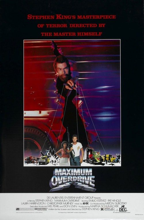 Maximum Overdrive 【 FuII • Movie • Streaming