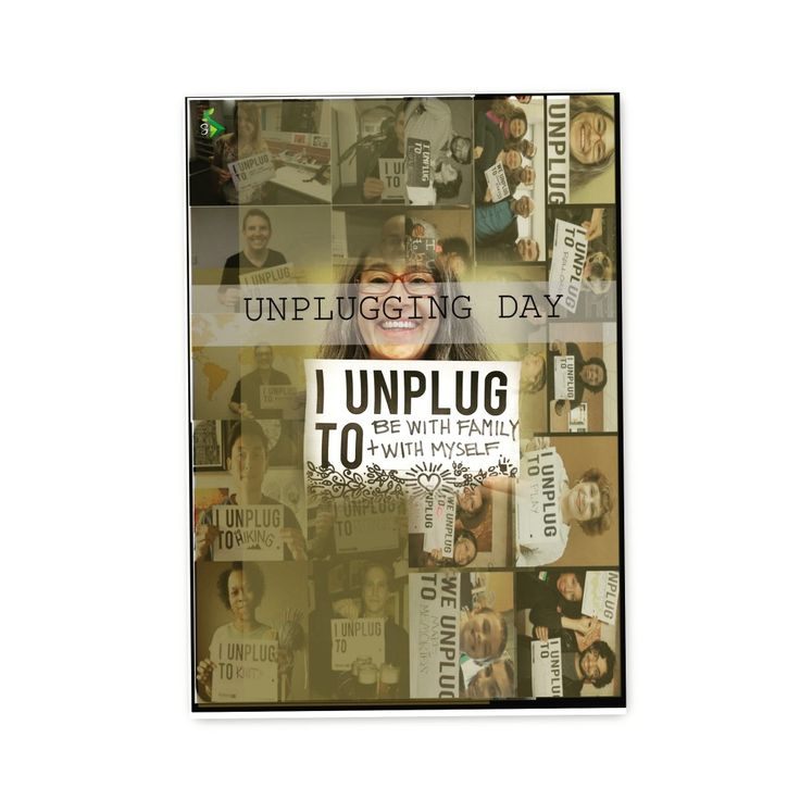 6th March NATIONAL DAY OF UNPLUGGING. On the first Friday