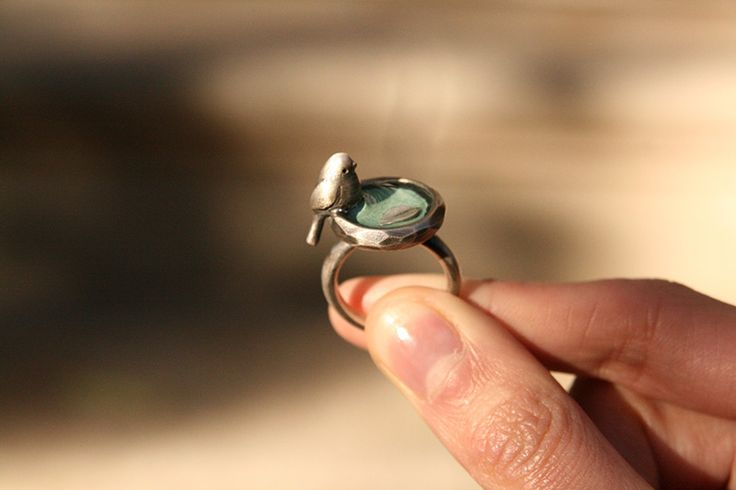 angelsalvarezshop.bigcartel.com Little bird silver ring