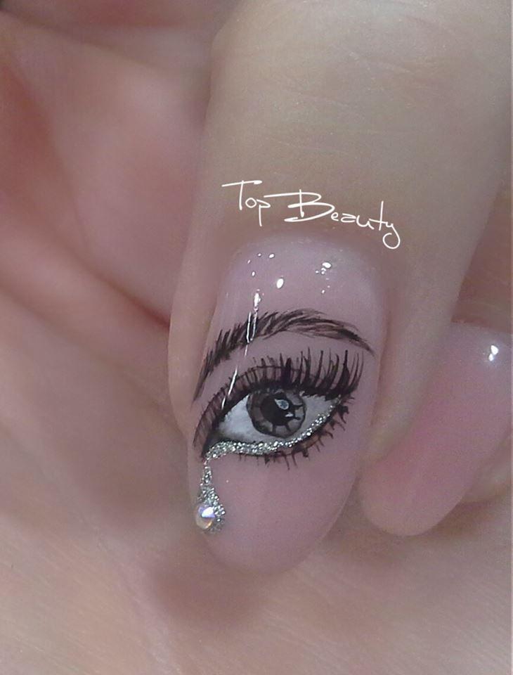 #Acrylic #handpainting #eye #nailart   Κλείστε τώρα το ραντεβού σας:  2310764444  Μεταλλείων Ταύρου 27 (Πλατεία Ευόσμου) #Nails #Topbeauty #Topbeautyevosmos #Handpainting #Manicure #Design #Nailsonfleek #Nailgasm #Nailsoftheday #Nails2inspire #Nailsgreece