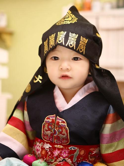 Baby boy's hanbok