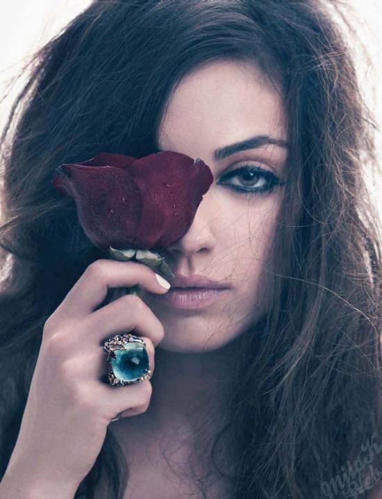 Mila Kunis is stunning.