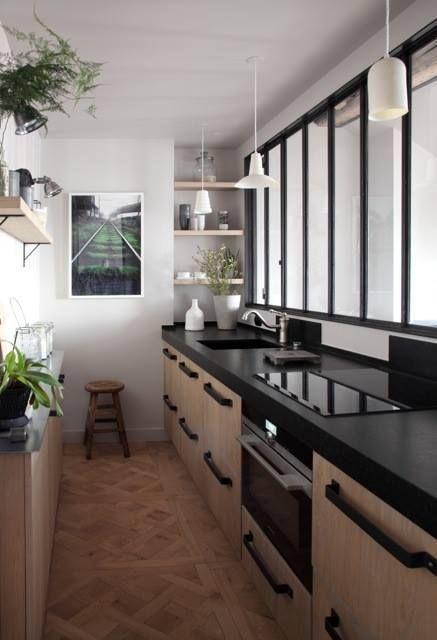 17 meilleures id es propos de petites cuisines sur pinterest rangement cuisine refaire une. Black Bedroom Furniture Sets. Home Design Ideas