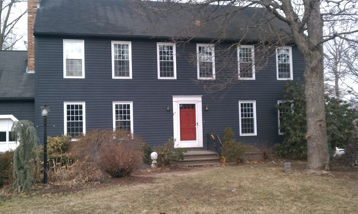 Navy Blue Check Red Door Check White Trim Check Black