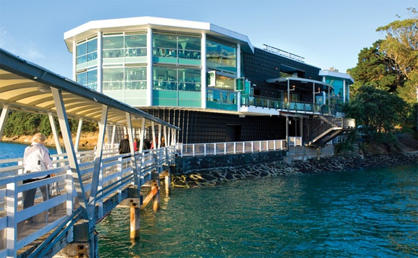 Fisherman's Wharf Restaurant in Auckland, New Zealand.