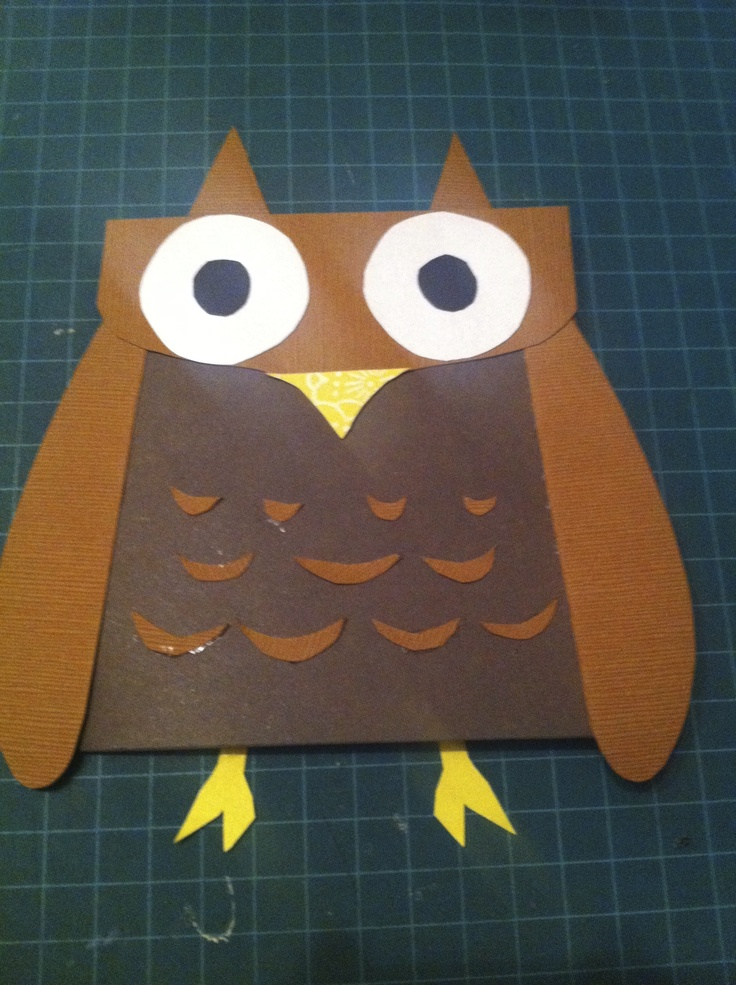 """Inside reads: """"Hope your Birthday's a Hoot!"""""""