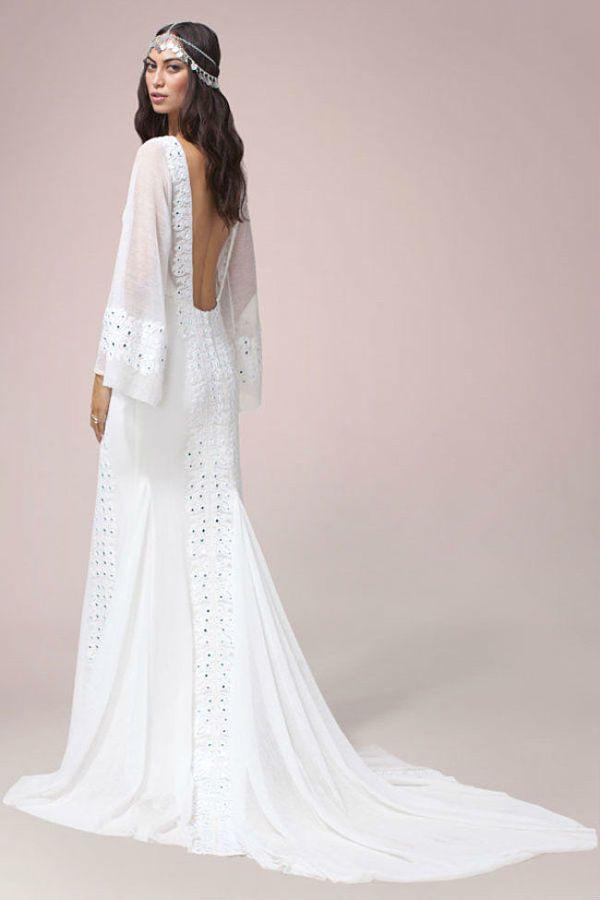 de 10 fotos de vestidos de novia ibicencos y hippies de 2017   bodas