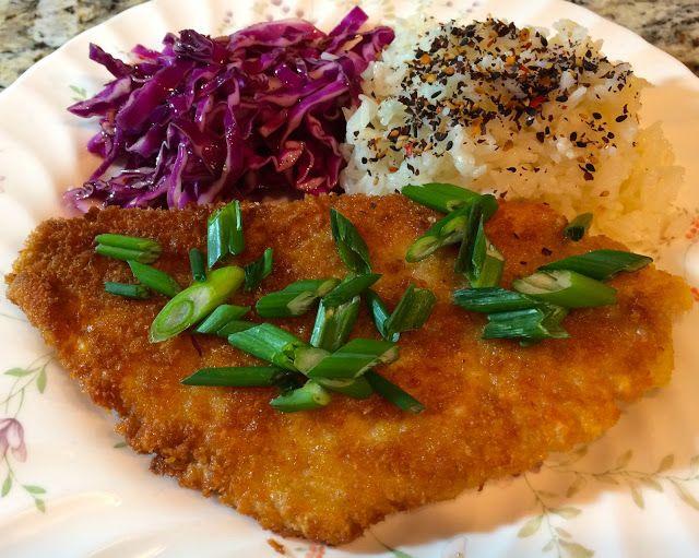 18th Blue Apron Subscription Review, Katsu Style Catfish