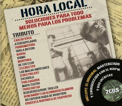 Agenda - 5 Covers de artistas colombianos, Artículo Online