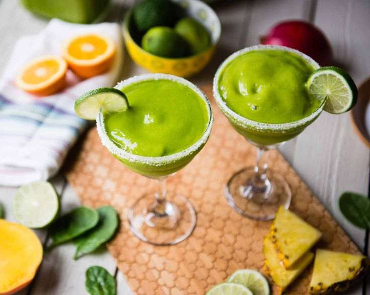Margarita recipe with a healthy punch | @SimpleGreenSmoothies.com