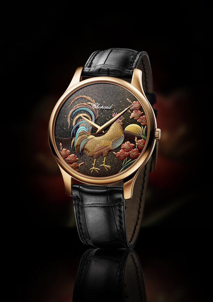 Новогодние часы Chopard L.U.C XP Urushi