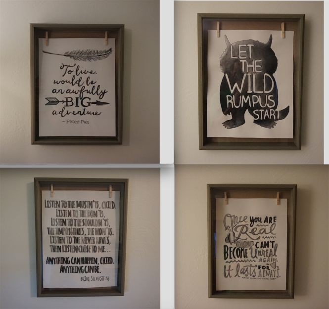 Storybook Nursery Artwork - Literature Quotes