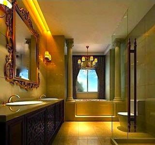 www.leovandesign.com - Formal Interior Design Style - Formal Bathroom