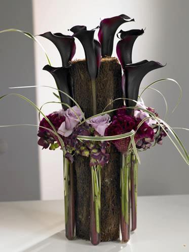 Beautiful Calla arrangement for a funeral